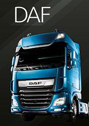Portadilla marca DAF Catálogo 2020