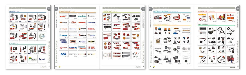 Índice de imágenes Catálogo 2020
