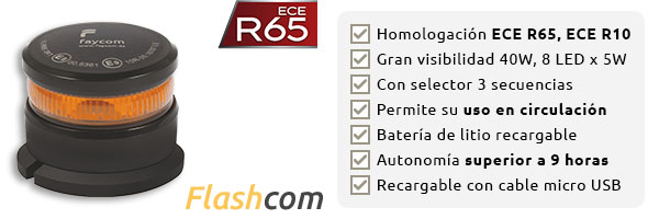 Flashcom Baliza de emergencia FA520010