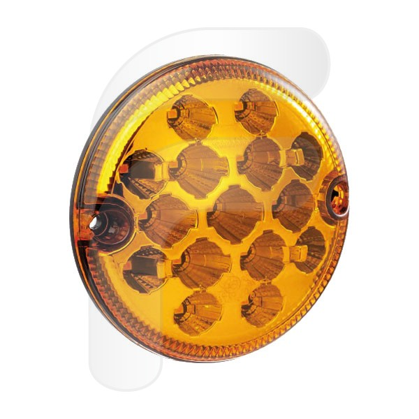 PILOTO REDONDO LED INTERMITENTE 12/24V 95MM FA210114RB